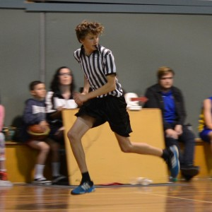 Ivanhoe Knights referee on-court