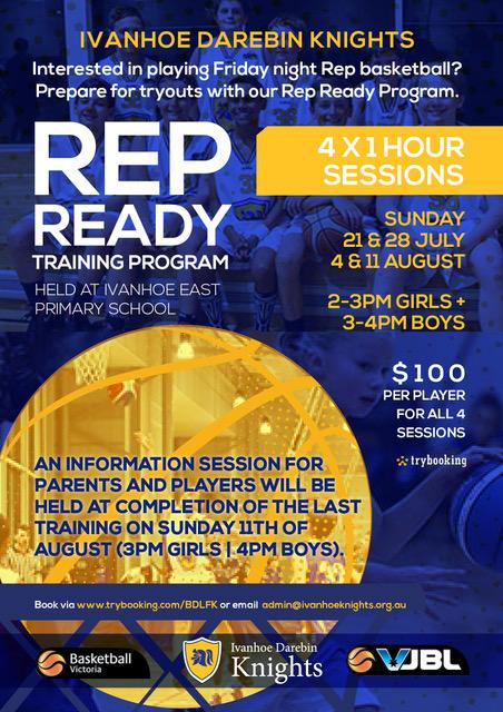 Rep ready flyer